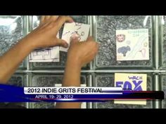 WACH-Fox TV preview of Indie Grits kickoff party by Alexis King - Fancy Grits and Lite Brite = Good Times at 701 Whaley