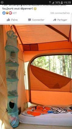 Rangement camping