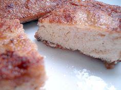 Poached frozen tofu and fried frozen tofu cutlets -- yum! :o)