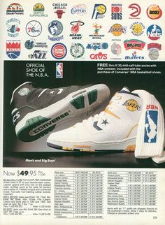 1989 official #NBA catalog