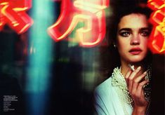 Natalia Vodianova Has a Beijing Romance in Vogue China June 2011 #travel trendhunter.com