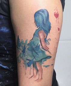 Cassio Magne lora Zombie tattoo