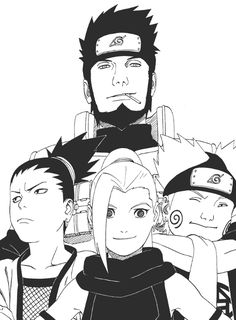Naruto Challenge Day 3- Favorite Team : Team Asuma: Shikamaru, Ino & Choji. This team is my favorite because their bond is just so strong. Even though Ino is sooo annoying, Shika is my favorite and Asuma is just awesome and Choji is adorable :)