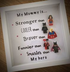 PLEASE NOTE - These are a pre order item delivered around mid October Mum s are amazing aren t they Real life superheros in our eyes Here is our best