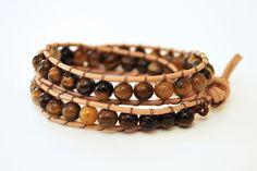 how to make beaded wrap bracelet