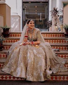 (C) Theweddingfiles | (C) Srishtichadha | Bridal lehenga | Pastel lehenga | Pastel brides | Wedding photography #weddingphotography #bridaltrends #lehenga #bridallehenga #pastelbrides #weddingtrends #trending Indian Bridal Outfits, Bridal Lehenga, Wedding Trends, Wedding Bride, Wedding Photography, Saree, Couture, Indian Jewelry, Brides