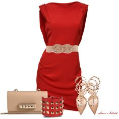 Red, created by sonies-world on Polyvore