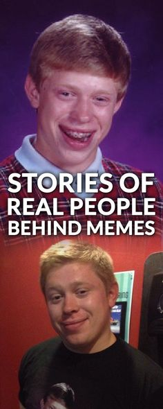 Sit back as these people unfold what it feels like to be famous internet meme stars.