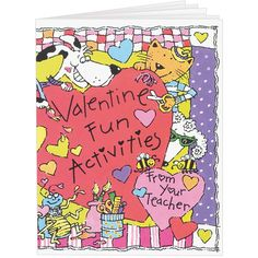 Totally cute and fun-filled Valentine Activity Journals