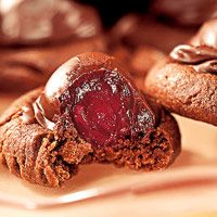 Chocolate-Covered Cherry Cookies....wouldn't be Christmas around here without these cookies!