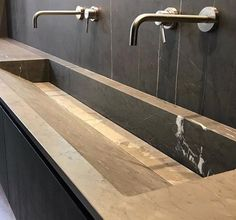 """Pibamarmi Caved """"Slope"""" Sink in Natural Stone Customizable For Sale at Stone Bathroom Sink, Natural Stone Bathroom, Stone Sink, Bathroom Fixtures, Natural Stones, Modern Bathroom Sink, Modern Bathrooms, Bathroom Ideas, Restroom Design"""