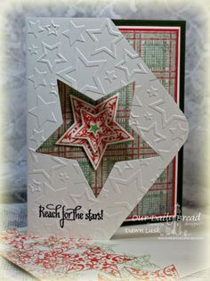 Stamps - Our Daily Bread Designs Reach for the Stars, Shine On, ODBD Soulful Stitches Paper Collection, ODBD Custom Sparkling Stars Dies