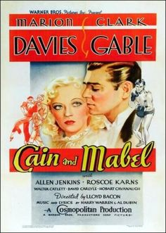 Cain and Mabel. 1936