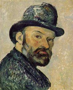 Paul Cézanne. Selbstporträt. 1883-1887, Öl auf Leinwand, 44 × 36 cm. Kopenhagen, Ny Carlsberg Glyptotek. Frankreich. Postimpressionismus. KO 01179
