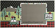 Scrap with Sue: Another August Club Kit - Jack Kit #2 Camping Life