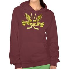 Who Saves Wins, Women's Hockey Goalie Hoodie.  Warm and cosy American Apparel California Women's Fleece hooded tops! For many more #hockey hoodies, please check out my store: http://www.zazzle.com/gamefacegear*/