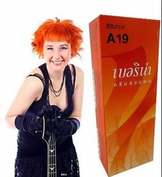 Berina Permanent Hair Dye a 19 Golden Orange Collection Thai 1pack. Ship From Thailand. Berina Permanent Hair A 19 Golden Orange color Collection Thai 1 Pack. Berina Permanent Hair Dye A 19 Golden Orange color Collection Thai 1 Pack. This product is from leading department store. 100% Original& Authentic with reasonable price. High quality & reliable product.