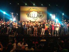 Evento da Empower, em Chicago, EUA, com a presença dos Lazy e a bandeira de Portugal.   http://www.joselopesmkt.com/