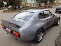Looking for the Ford Capri of your dreams? There are currently 11 Ford Capri cars as well as thousands of other iconic classic and collectors cars for sale on Classic Driver. Ford Capri, Mercury Capri, Ford Rs, Ford Classic Cars, Performance Cars, Ford Motor Company, Automotive Design, Amazing Cars, Custom Cars