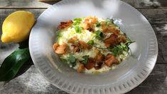 Risotto med jordskokk Vegetarian Eggs, Food Inspiration, Baked Potato, Risotto, Tapas, Vegan, Chicken, Breakfast, Ethnic Recipes