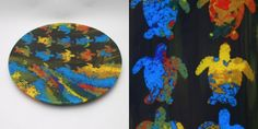 Fused glass handmade by Kathleen Sheard