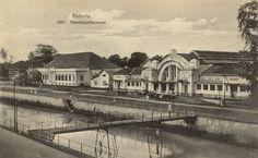Hoofdkantoorpost Pasar Baroe te Batavia 1900.