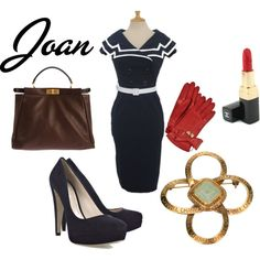 Mad Men | Joan Holloway, created by lbabuik.polyvore.com