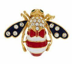 Joan Rivers God Bless America Bee Pin