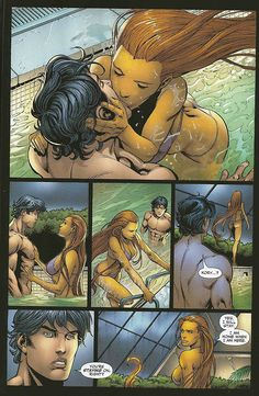 Titans: Old Friends c.2008  dick and kory part 3