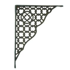 Metal Decorative Shelf Bracket — MUSEUM OUTLETS Making Shelves, Decorative Shelf Brackets, Iron Furniture, Maine House, Outlets, Wrought Iron, Plant Hanger, Shelving, Hooks