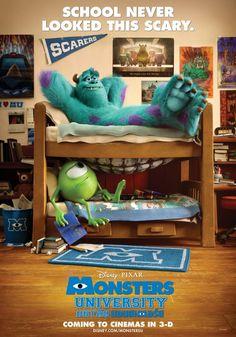 Monsters University Movie Poster #2 - Internet Movie Poster Awards Gallery