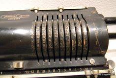 L K Original Odhner 7 Rechenmaschine Mechanical Calculator Up from 1923 RARE | eBay