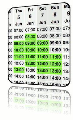 WhenIsGood.net simplifies the process of scheduling meetings or gatherings of more than 2 folks... Click the grid for all the dates + times that are good for you, email associated link to all invitees, they click on which options you've proposed will work for them and, then, you schedule for what best meets the needs of the majority of attendees. No sign-up form. No password. Completely free! Video to learn more at http://whenisgood.net/Videos.