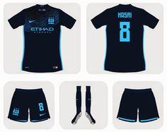 Nuevas camisetas de futbol 2014 2015 2016: Camisetas del Manchester City para la temporada 2015 - 2016???