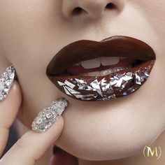 In celebration of our limited edition Silver Magnum, Karla Powell has created this beautiful make-up look and we love it! #chocolatemakeup