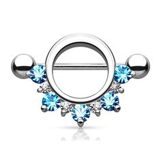 Piercing Type: Nipple Rings Bar Size: 14 Gauge mm) Bar Length: mm) Material: Surgical Steel Stone Material: CZ Sold by: Pair Lip Jewelry, Body Jewelry Piercing, Piercing Ring, Body Piercing, Fashion Jewelry, Piercing Ideas, Jewelry Shop, Jewellery Box, Jewelry Ideas