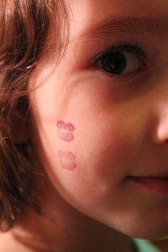 Elfish Kissy Lips Stamps - let a Elf on the Shelf leave little kisses!