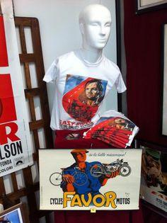 Easy rider - Biker/Kustom clothing - t-shirt www.kustomlifestyle.it