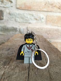 I LOVE MAGIC!  Harry Potter LEGO minifigure Keychain.   Available in my etsy shop: gagabricks.etsy.com