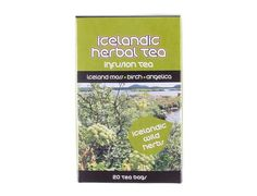 Icelandic herbal tea with antioxidant effects - Comes in 20 tea bags