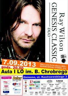 Ray Wilson will give a concert in Gniezno! Zapraszamy na koncert Raya Wilsona!