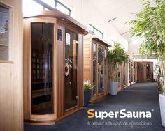 Geinteresseerd in een infrarood sauna? SuperSauna heeft de grootste keuze en minimaal 25 verschillende modellen in de winkels staan. Cabine Sauna, Showrooms, Eindhoven, Shed, Outdoor Structures, Design, Backyard Sheds, Sheds