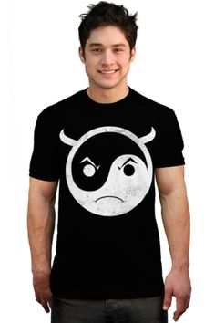 yinyang devil T-shirt by kharmazero from Design By Humans.