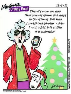 Christmas    Gotta love Maxine.