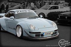 RAUH-Welt BEGRIFF Porsche 993 rolling on HRE Wheels. This is one AMAZING car. RWB.