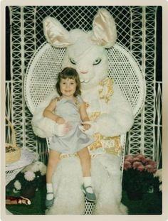 Quand le lapin de Pâques faisait peur sur les clichés du siècle dernier | golem13 |