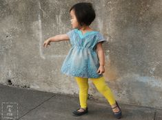 oliver + s roller skate tunic // you & mie