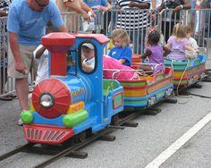 Beston kiddy track train