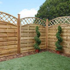 Trellis Fence, Garden Trellis, Diy Garden Fence, Garden Bridge, Garden Ideas, Fence Landscaping, Garden Buildings, Fence Panels