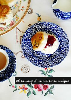20 savoury and sweet scone recipes